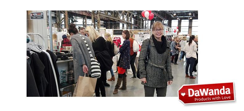 Designmarkt DaWande in den Böhlerwerken Düsseldorf